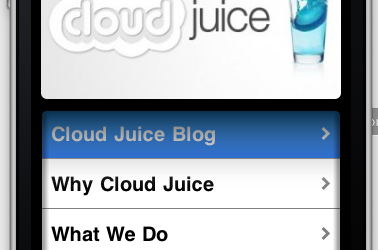 Cloud Juice App
